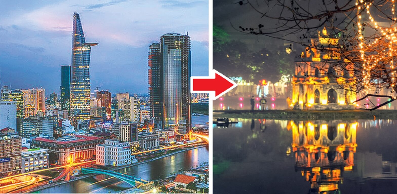 Chuyển phát nhanh từ Tp. Hồ Chí Minh ra Hà Nội mất bao lâu