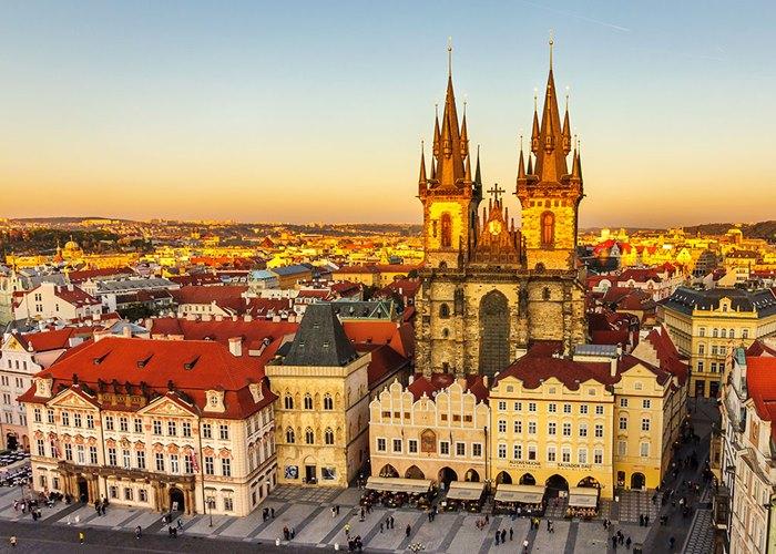 chuyển phát nhanh đi Cộng hòa Séc